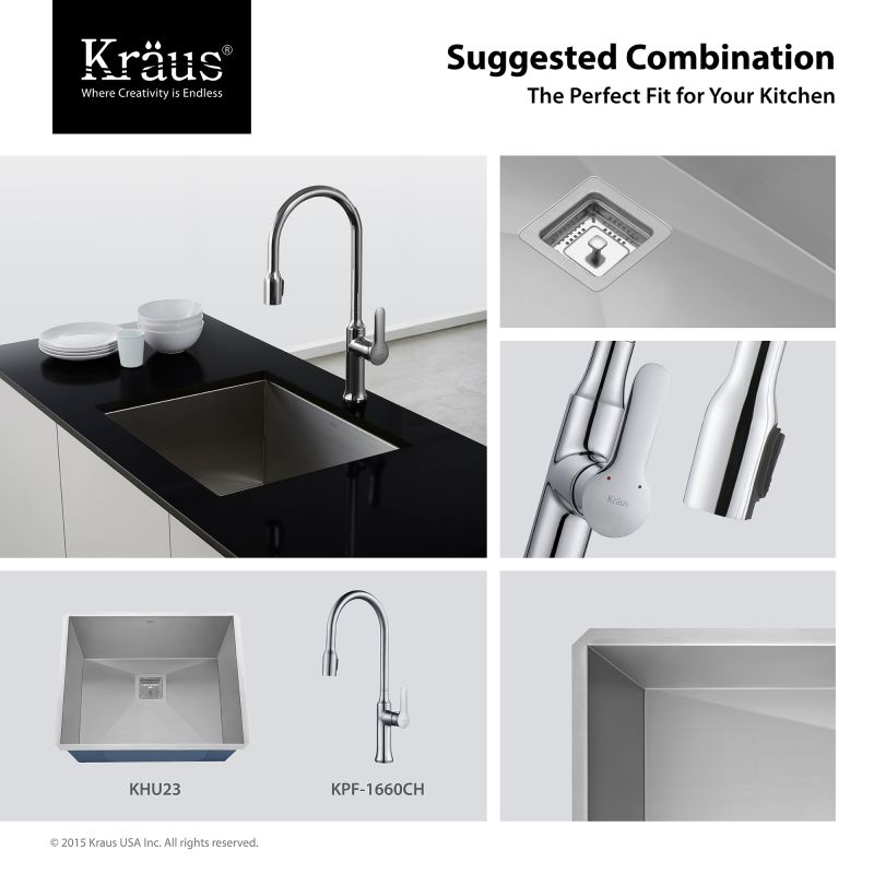 concealed bathroom sink faucetcom kpf 1660ch in chrome by kraus