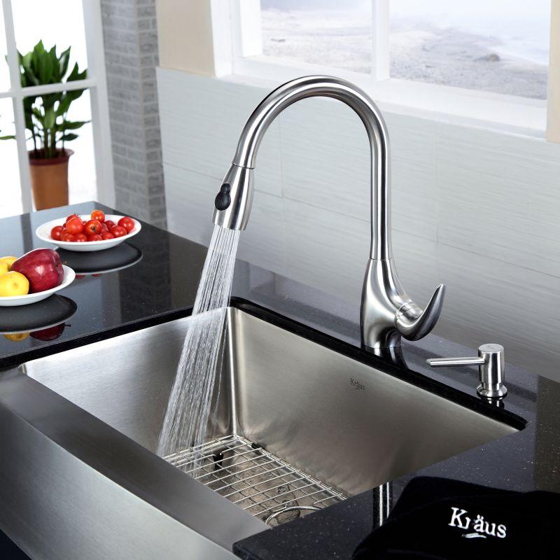 Kraus Stainless Steel Kitchen Sink. Perfect Kraus Inch Undermount ...