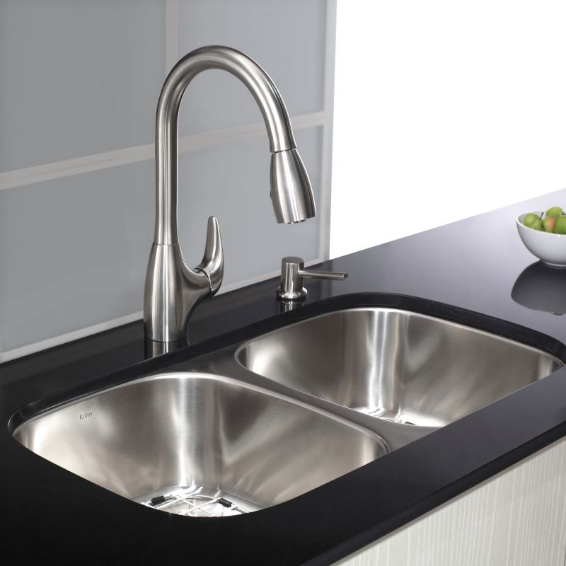 Kraus Kpf  Stainless Steel Pullout Spray Kitchen Faucet