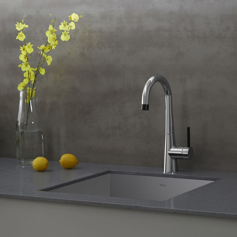Where Are Kraus Faucets Made : Kraus KPF-2700SS Stainless Steel Crespo Single Lever Kitchen Bar ...