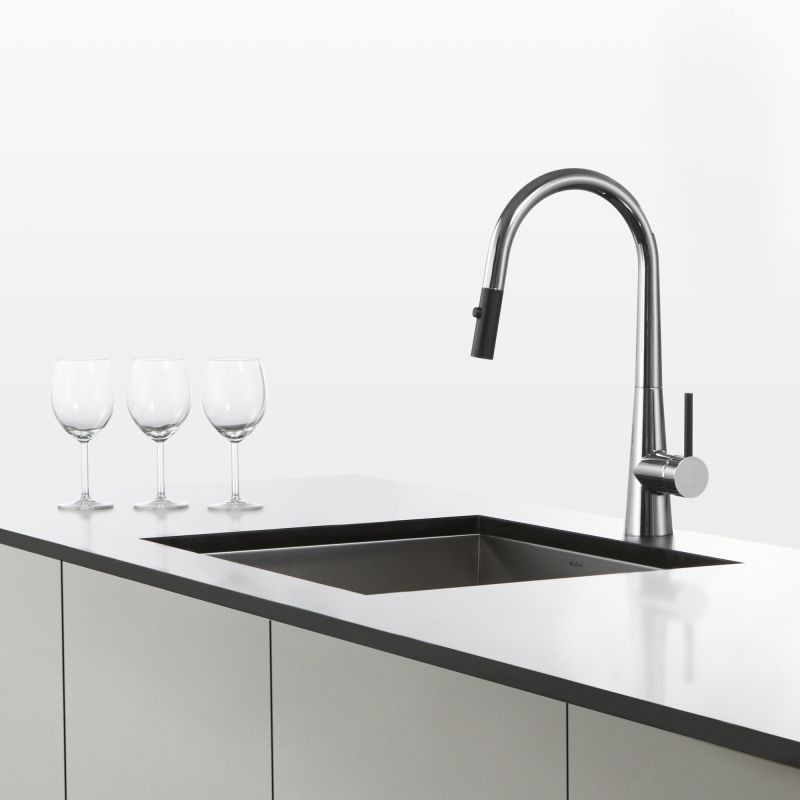 Kraus Kitchen Faucets | Faucet Com Kpf 2720ch In Chrome By Kraus