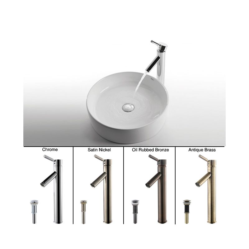 Kraus Brand Review : Kraus C-KCV-140-1002CH Chrome Bathroom Combo - 18
