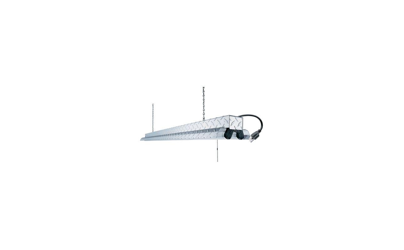 Buy Lithonia Lighting Online: Lithonia Lighting 1241DP RE Silver 2 Light Fluorescent