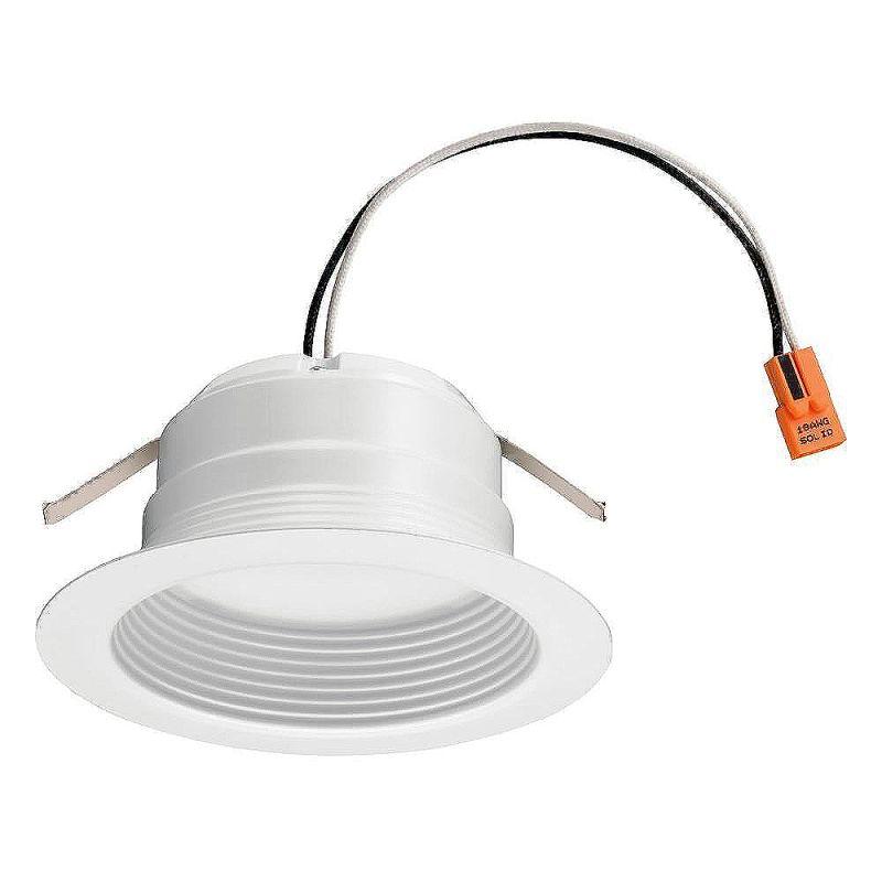 lithonia lighting 4bemw led 30k m6 white 1 light led energy star rated. Black Bedroom Furniture Sets. Home Design Ideas
