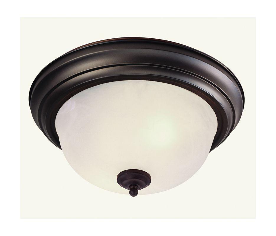 Livex Lighting 7118 07 Bronze Regency 2 Light Flush Mount