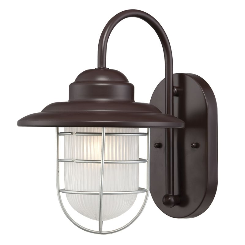 Exterior Wall Sconce Mounting Height : Millennium Lighting 5390-ABR Architectural Bronze R Series 1 Light Outdoor Wall Sconce - 8.5 ...