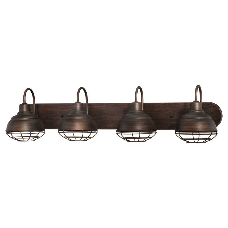 Millennium Lighting 5424-RBZ Rubbed Bronze Neo-Industrial