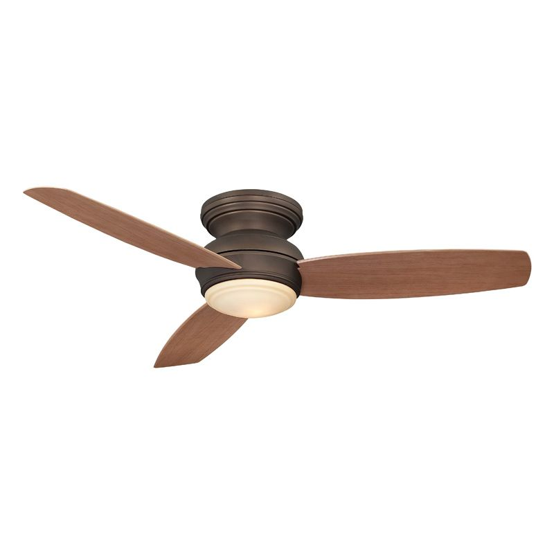 Minkaaire F594 Orb Oil Rubbed Bronze 3 Blade 52 Quot Flush