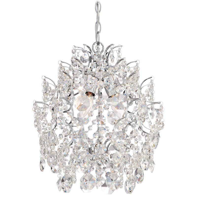 Minka Lavery 3150 77 Chrome 3 Light Single Tier Chandelier