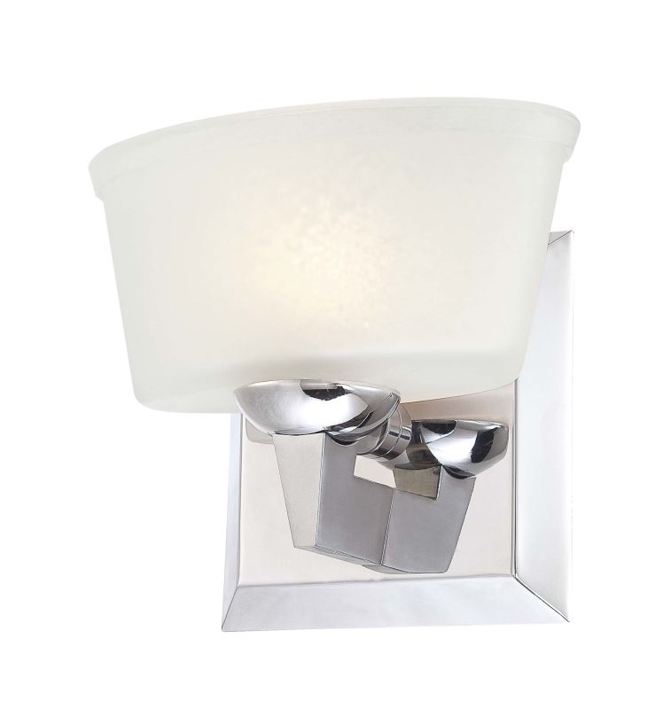 Minka Lavery 6561-77 Chrome 1 Light Bathroom Sconce from the Tre Venti Collection ...