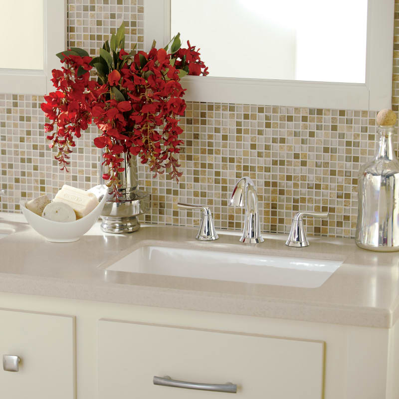 Alternate View. Faucet com   MIRU1713WH in White by Mirabelle