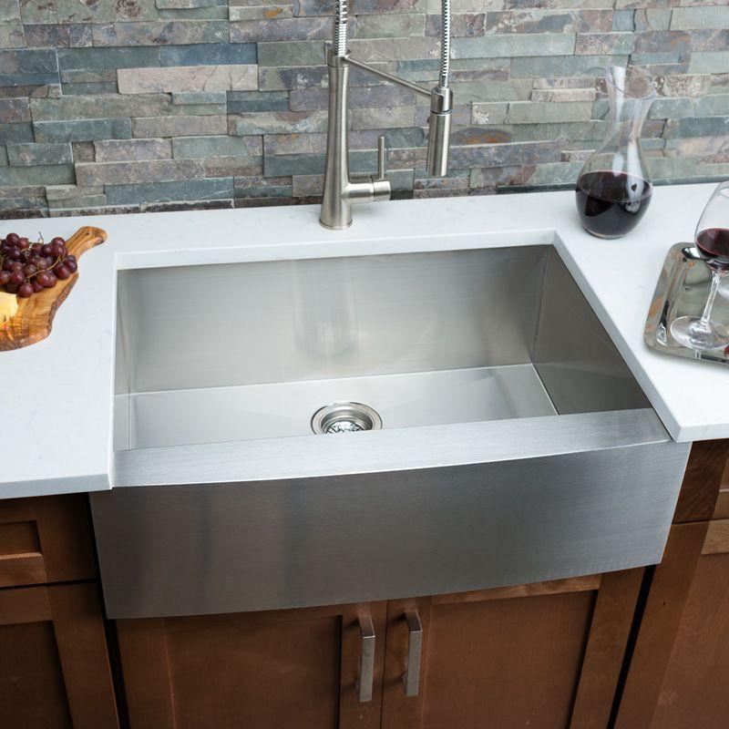 White farmhouse sink ikea apron front kitchen sink - Great kitchen sinks ...