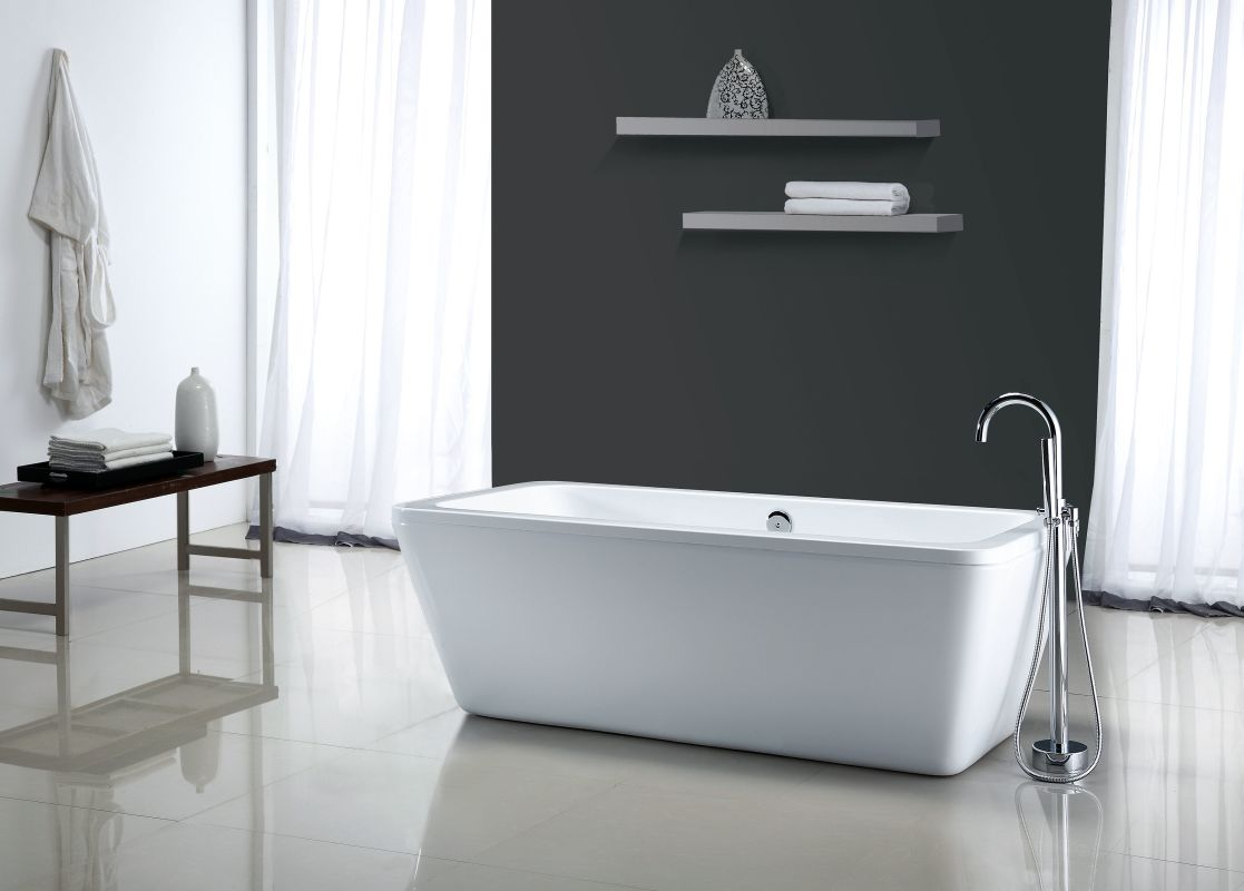 free standing tub canada. Save  Faucet com MT6932FSR in White by Miseno