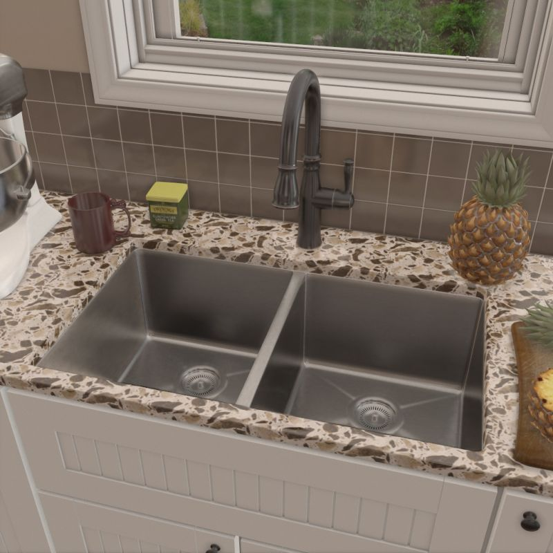 ... Alternate View Pull Down Kitchen Faucet In Stainless Steel ...