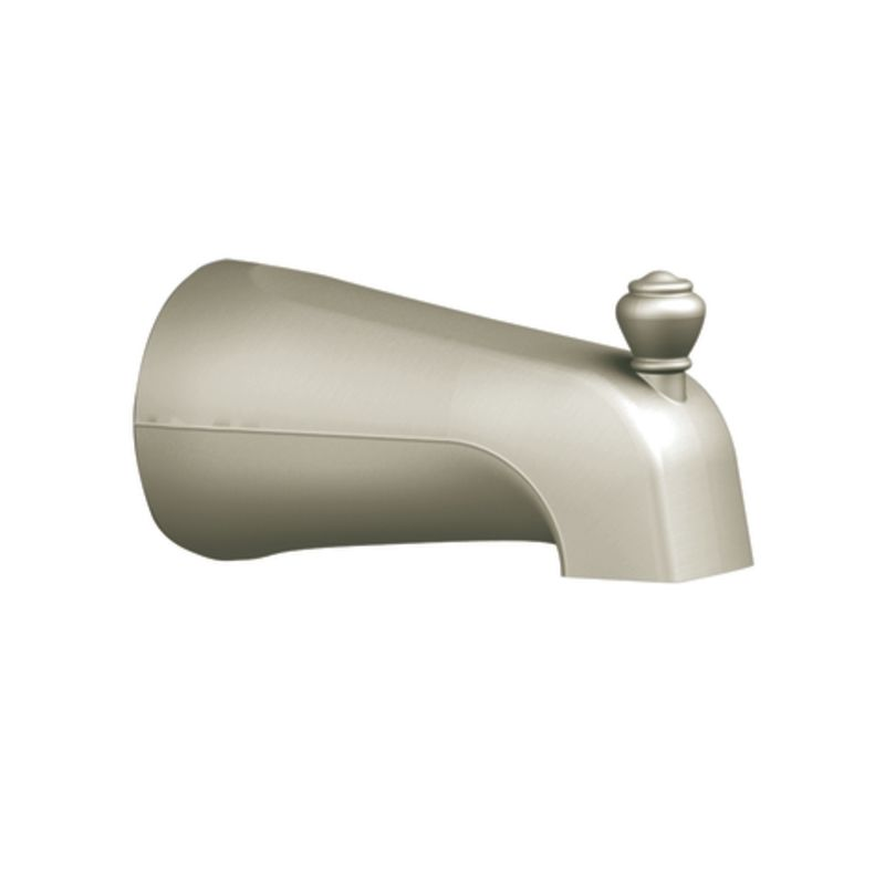 Moen 3809bn Brushed Nickel 5 1 2 Tub Spout With 1 2 Ips Connection From The Monticello