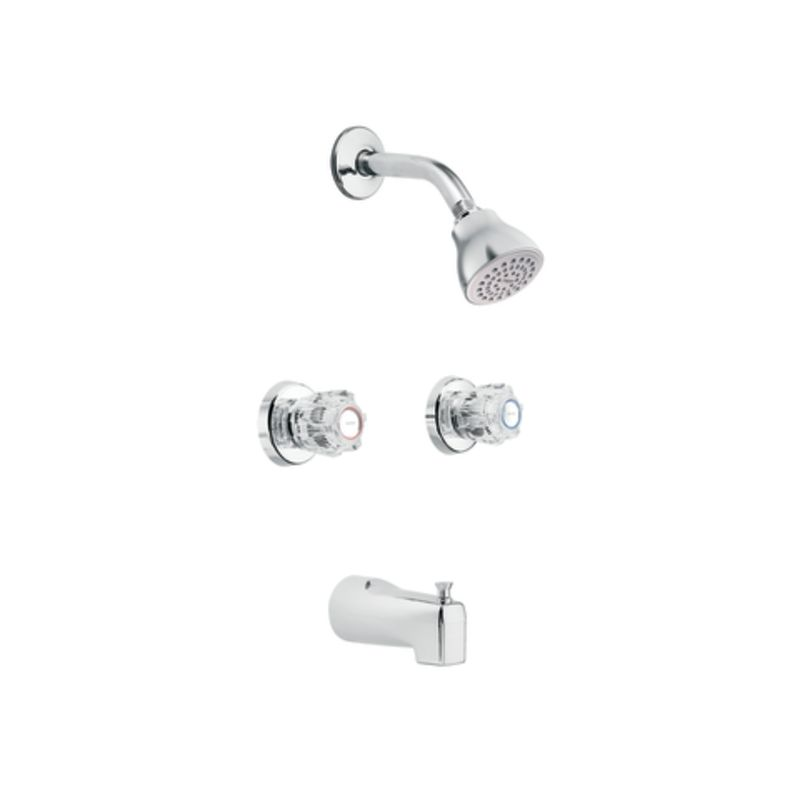 Two Handle Shower Faucets - Mobroi.com