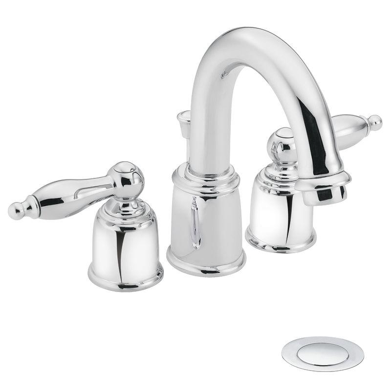 Moen Castleby Kitchen Faucet >> Faucet.com | T4945 in Chrome by Moen