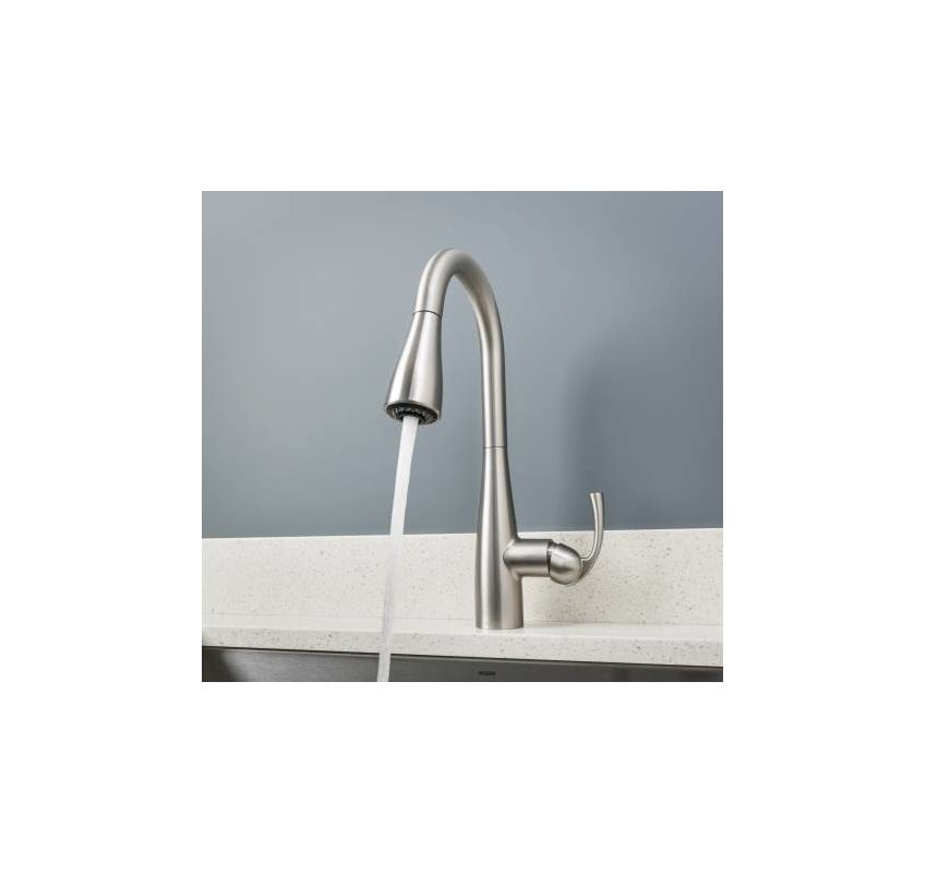 faucet   87014srs in spot resist stainlessmoen