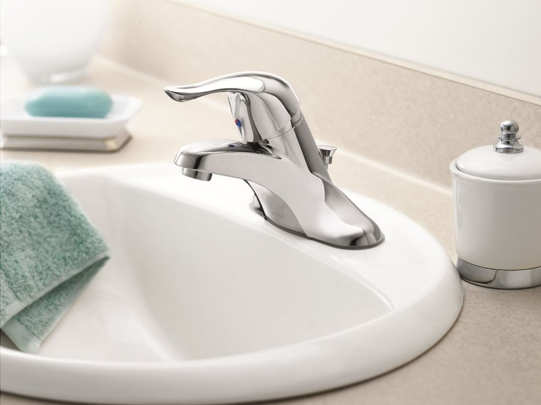 Brushed Chrome Bathroom Faucets faucet | l4621bc in brushed chromemoen
