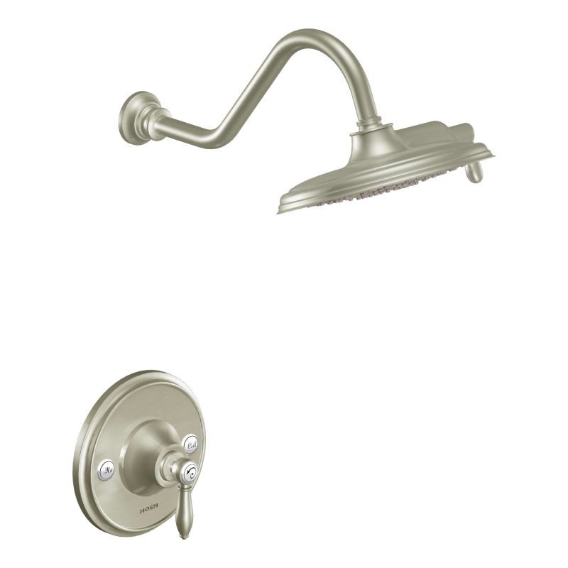 Captivating ... Shower Trim In Brushed Nickel ...