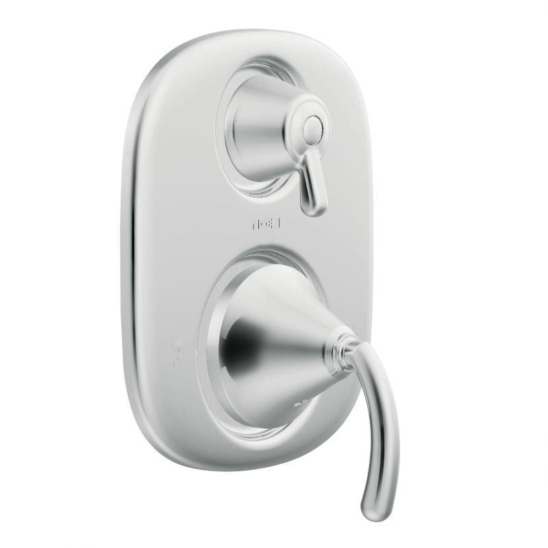 ... Brushed Nickel · Valve Trim With Integrated Diverter In Chrome ...