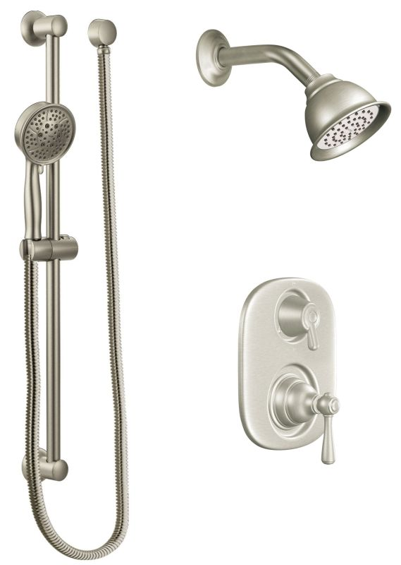 Moen 602sepbn Brushed Nickel Pressure Balanced Shower
