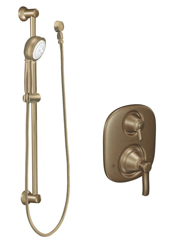Moen 603az Antique Bronze Pressure Balanced Shower System