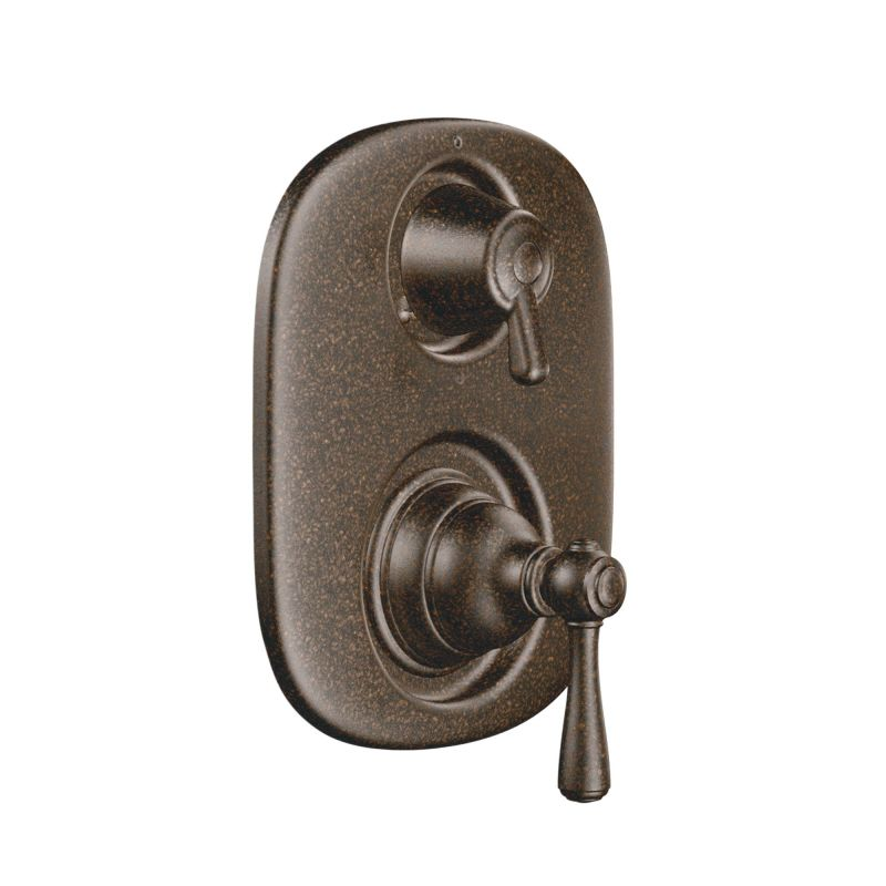 ... Valve Trim With Integrated Diverter Trim In Oil Rubbed Bronze; Shower  ...