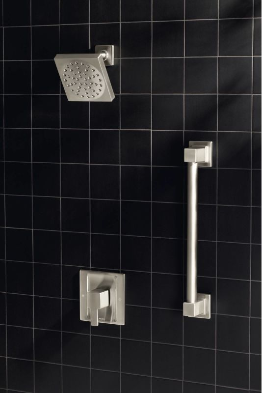 ... Installed Shower System In Brushed Nickel ...