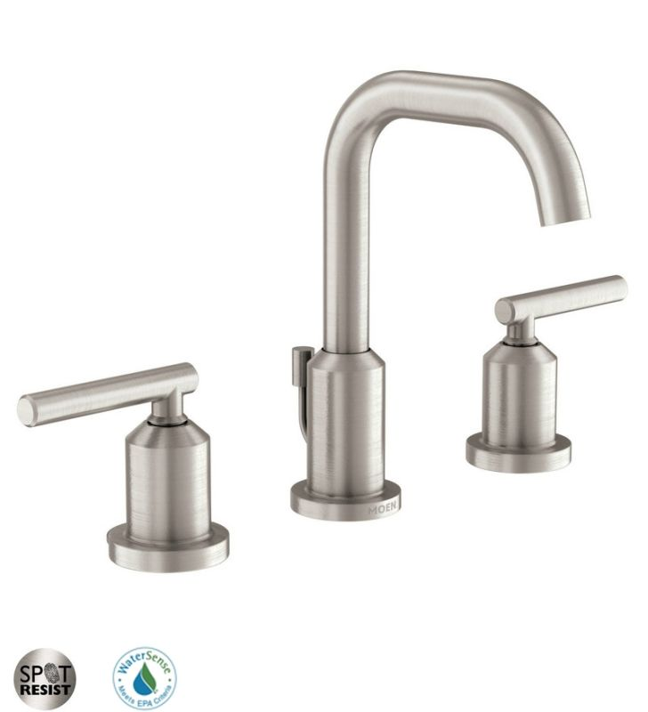 Faucet Com 84229srn In Spot Resist Brushed Nickel By Moen