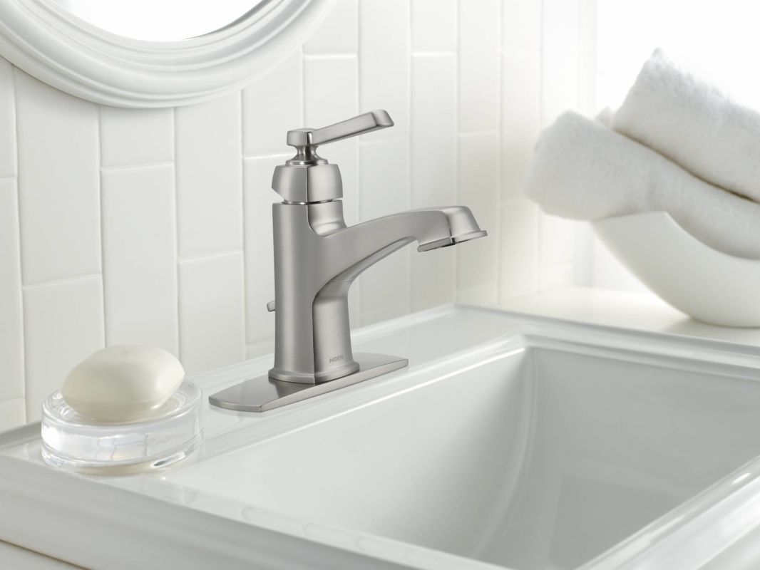 endearing 20 moen single handle bathroom faucet decorating