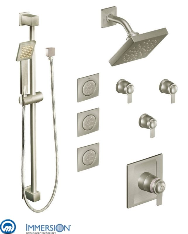 Charming Click To View Larger Image · Hand Shower In Brushed Nickel ...