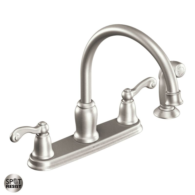 Moen Traditional Bathroom Faucet: CA87004SRS In Spot Resist Stainless By Moen