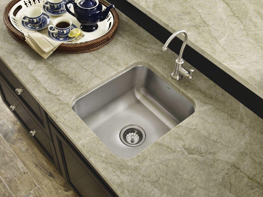 Moen Undermount Bathroom Sink faucet | g18443 in stainlessmoen