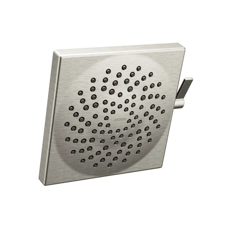 Moen S6345BN Brushed Nickel Velocity 2 5 GPM Two Function Rainshower With Swi