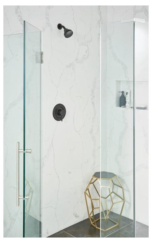 Faucet.com   T2192NHBL in Matte Black by Moen