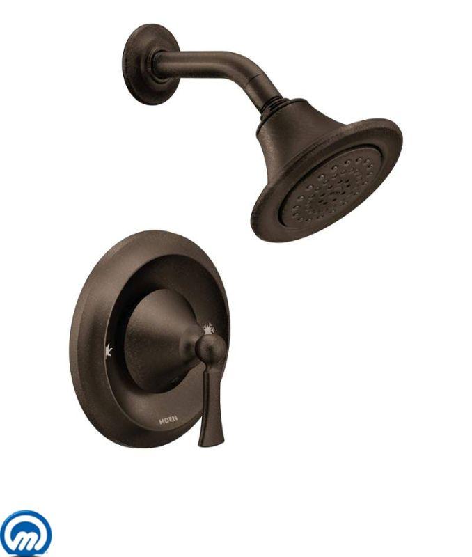 Moen T4502orb Oil Rubbed Bronze Wynford 2 5 Gpm Shower