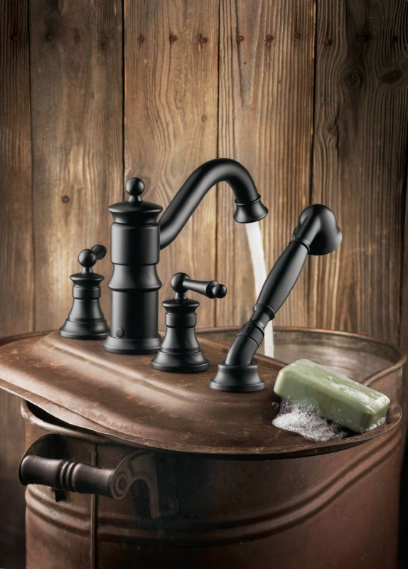 Moen Roman Tub Faucet With Hand Shower - Mobroi.com