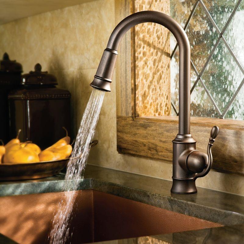good High Arch Kitchen Faucet #5: Alternate View; Faucet ...