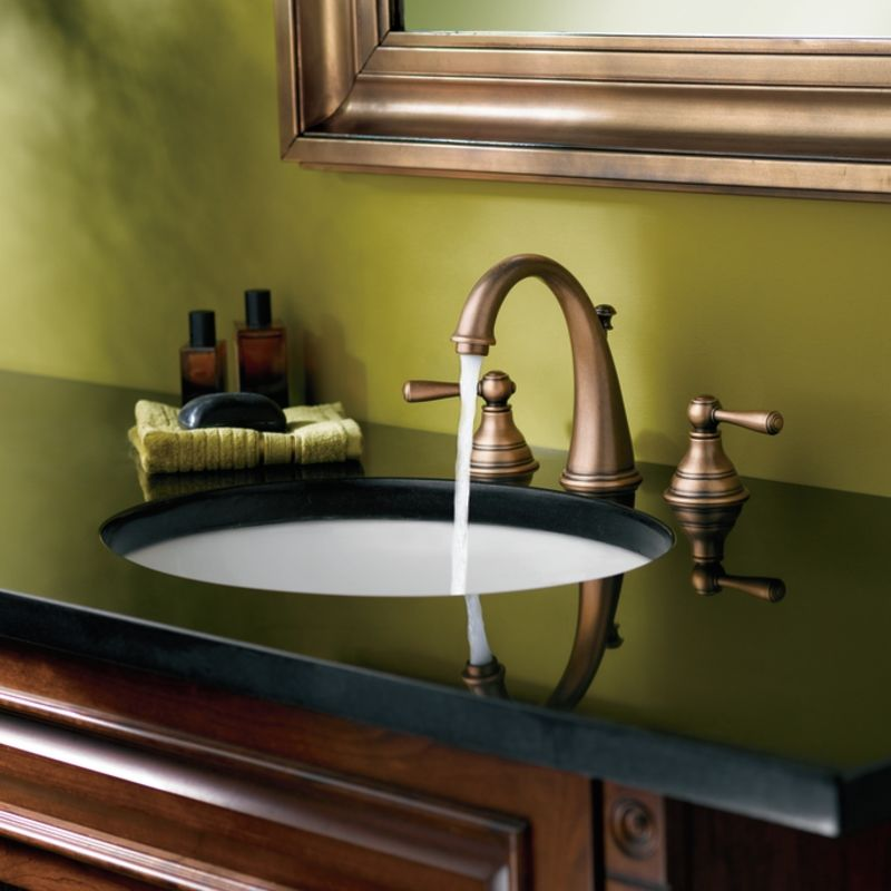moen brass bathroom faucets. Offer Ends Faucet com  T6125P in Polished Brass by Moen