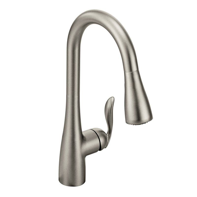 Moen  Single Handle Kitchen Faucet With Pullout Spray Parts