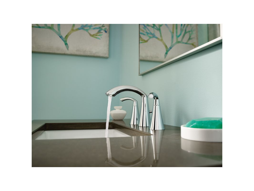 Faucet Com T6173bn In Brushed Nickel By Moen
