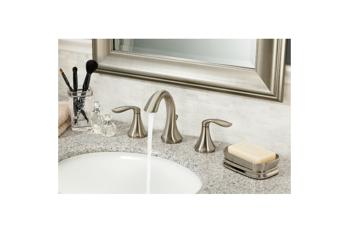 faucet | t6420bn in brushed nickelmoen