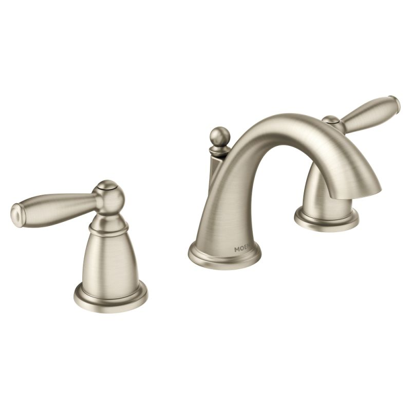 Moen T6620bn Brushed Nickel Double Handle Widespread