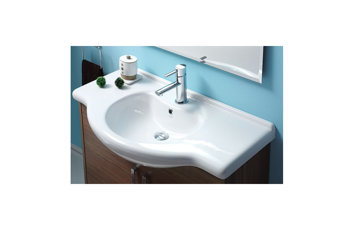 faucetcom  cerastyle uone hole in white  one hole by  - offer ends