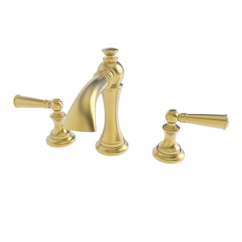 Bathroom Faucets Newport Brass faucet | 2450/24s in satin gold (pvd)newport brass