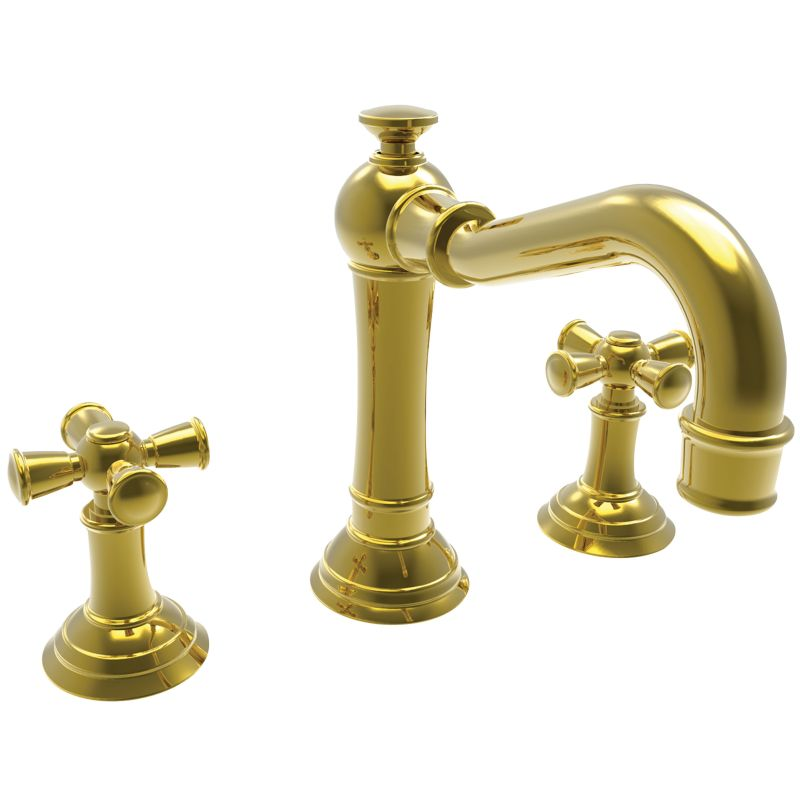 2460 03n in uncoated polished brass living for Newport bathroom fixtures