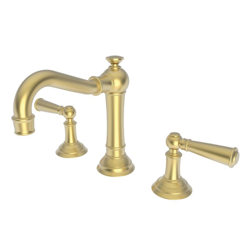 2470 04 in satin brass pvd by newport brass Newport brass bathroom faucets