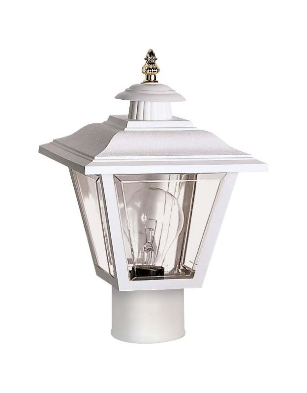 Nuvo Lighting Sf77 899 White Single Light 13 Quot Coach Post