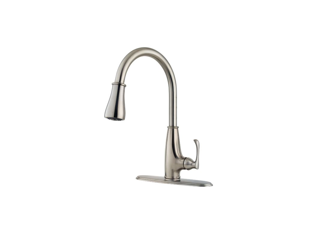 Pfister Kitchen Faucet Faucetcom F 529 7ays In Stainless Steel By Pfister